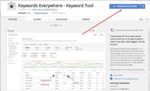 1 Keyword Everywhere - Keyword Tool Tambahkan ke Google Chrome