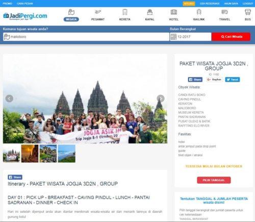 Paket Wisata Malioboro di JadiPergi.com