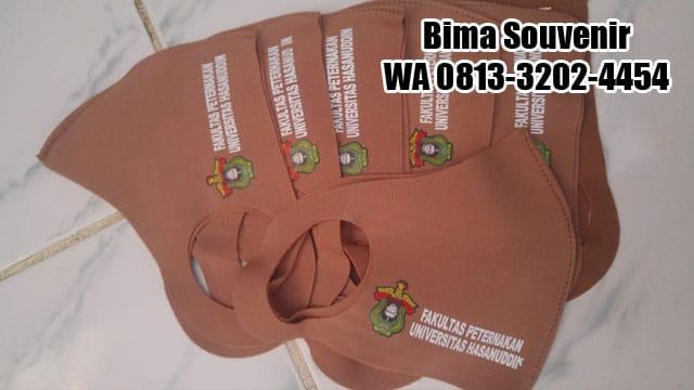 Masker Scuba Custom. Jasa Pembuatan / sablon masker scuba di surabaya